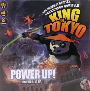 King of Tokyo - Power Up! Deutsche Version