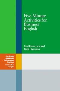 Fife-Minute Activities for Business Englisch