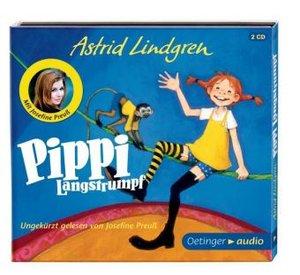 Pippi Langstrumpf (2 CD)