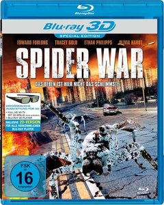 Spider War (Blu-Ray Real 3d)