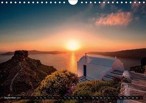 Santorini - Perle in der Ägais (Wandkalender 2017 DIN A4 quer)