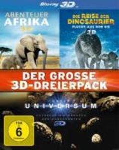 Das Große 3D-Dreierpack (Abenteuer Afrika/