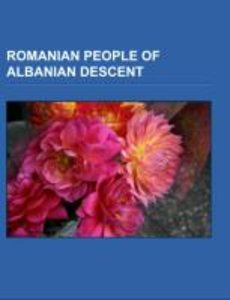 Romanian people of Albanian descent