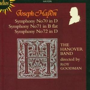 Sinfonien 70,71,72