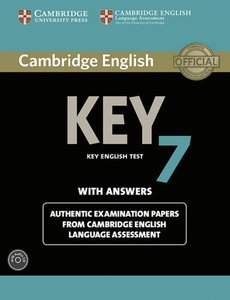 Cambridge English Key 7. Student's Book with answers with Audio
