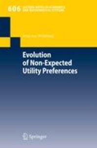 Evolution of Non-Expected Utility Preferences