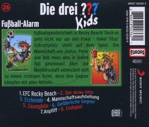 Die drei ??? Kids 26: Fußball-Alarm (Fragezeichen)