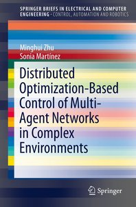 Distributed Optimization-Based Control of Multi-Agent Networks i