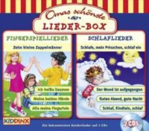 Omas Schönste Lieder-Box 2 CD