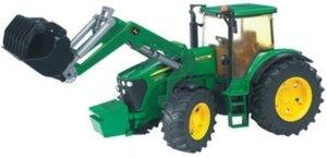Bruder 3051 - John Deere: Traktor 7930 mit Frontlader