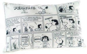 Heunec 587878 - Peanuts Kissen mit Comics, 40x25xm