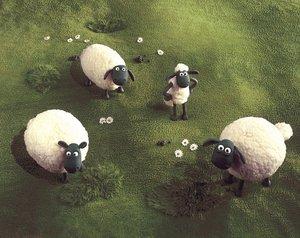 Shaun das Schaf - Gemüsefussball. Kicker-Flaggen-Edition