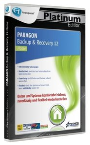 PARAGON Backup & Recovery 12 (Home) - Platinum Edition