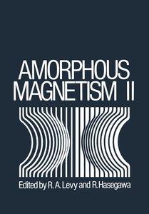 Amorphous Magnetism II