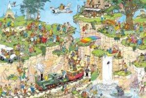 Der Golfplatz. Puzzle 1500 Teile