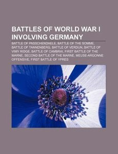 Battles of World War I involving Germany
