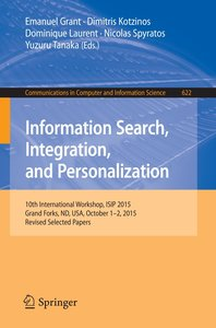 Information Search, Integration, and Personalization