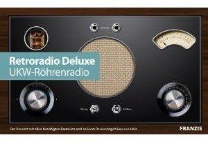 Retroradio Deluxe - UKW-Röhrenradio selber bauen (Bausatz mit al