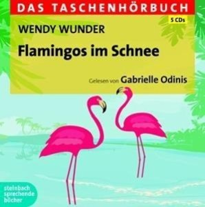 Flamingos im Schnee-Das Tasc
