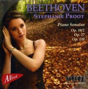 Beethoven Piano Sonatas op.10/2,27,110