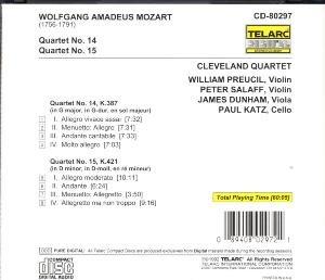 Streichquartette 14 & 15