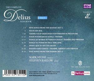 Complete Delius Songbook Vol.2