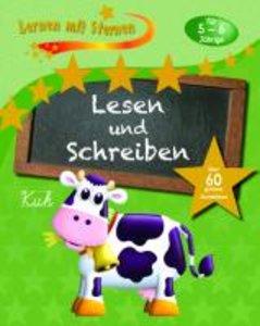 Lernen mit Sternen - Lesen und Schreiben für 5- bis 6-Jährige