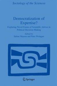 Democratization of Expertise?