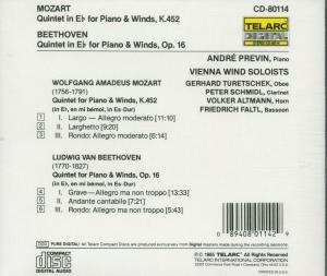 Quintette Fur Bläser Und Klavier