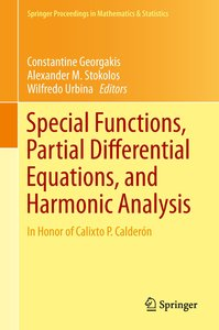 Special Functions, Partial Differential Equations, and Harmonic
