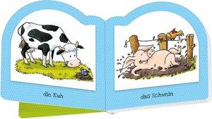 Miniwelt: Kleines Mitnehm-Buch. Bauernhof