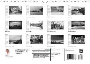 Kaiser, R: Architecture in b/w - Organizer / UK-Version