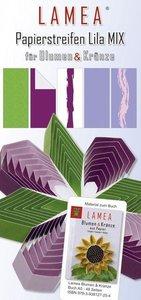 LAMEA Papierstreifen Lila Mix