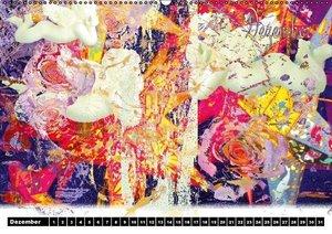 Blumen - Digital (Wandkalender immerwährend DIN A2 quer)