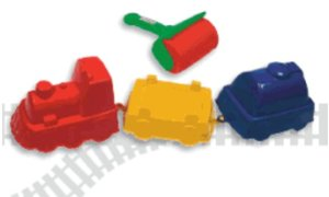 Spielstabil 7440 - Sand Express, Eisenbahn 4-teilig