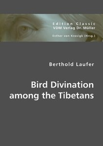 Bird Divination among the Tibetans