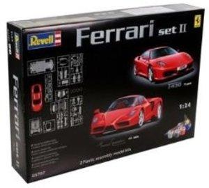 Revell 05707 - Modellbausatz Geschenkset Ferrari 1:24