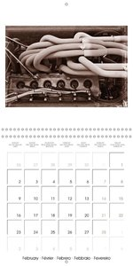 Historic Grand Prix of Monaco (Wall Calendar 2015 300 × 300 mm S