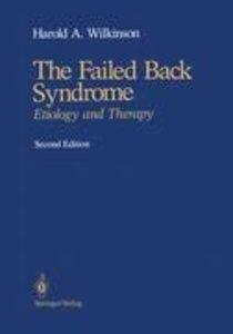 The Failed Back Syndrome