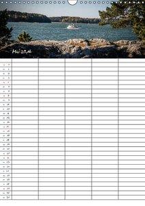 Finnland Familienplaner (Wandkalender 2016 DIN A3 hoch)