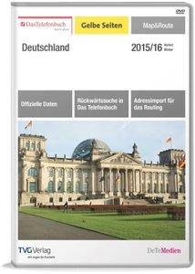 Das Telefonbuch Gelbe Seiten Map&Route Herbst/Winter 2015/16