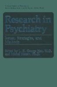 Research in Psychiatry
