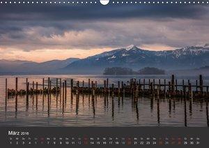 Chiemsee in magischem Licht (Wandkalender 2016 DIN A3 quer)