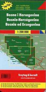 Bosnien-Herzegowina 1 : 200 000. Autokarte