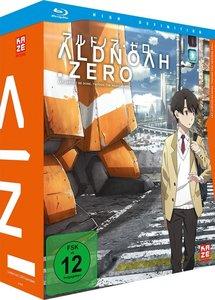 Aldnoah.Zero - Blu-ray 1 + Sammelschuber (inklusive Soundtrack)