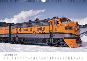 US Diesellokomotiven (Wandkalender 2017 DIN A3 quer)