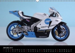 Famous Bikes / UK-Version (Wall Calendar 2015 DIN A3 Landscape)