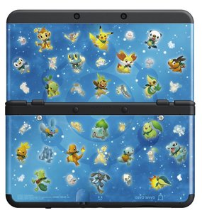 New Nintendo 3DS Zierblende 030 (Pokemon SMD)