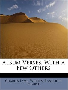 Album Verses, With a Few Others
