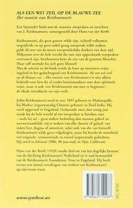 Krishnamurti, J.:Als een wit zeil op de blauwe